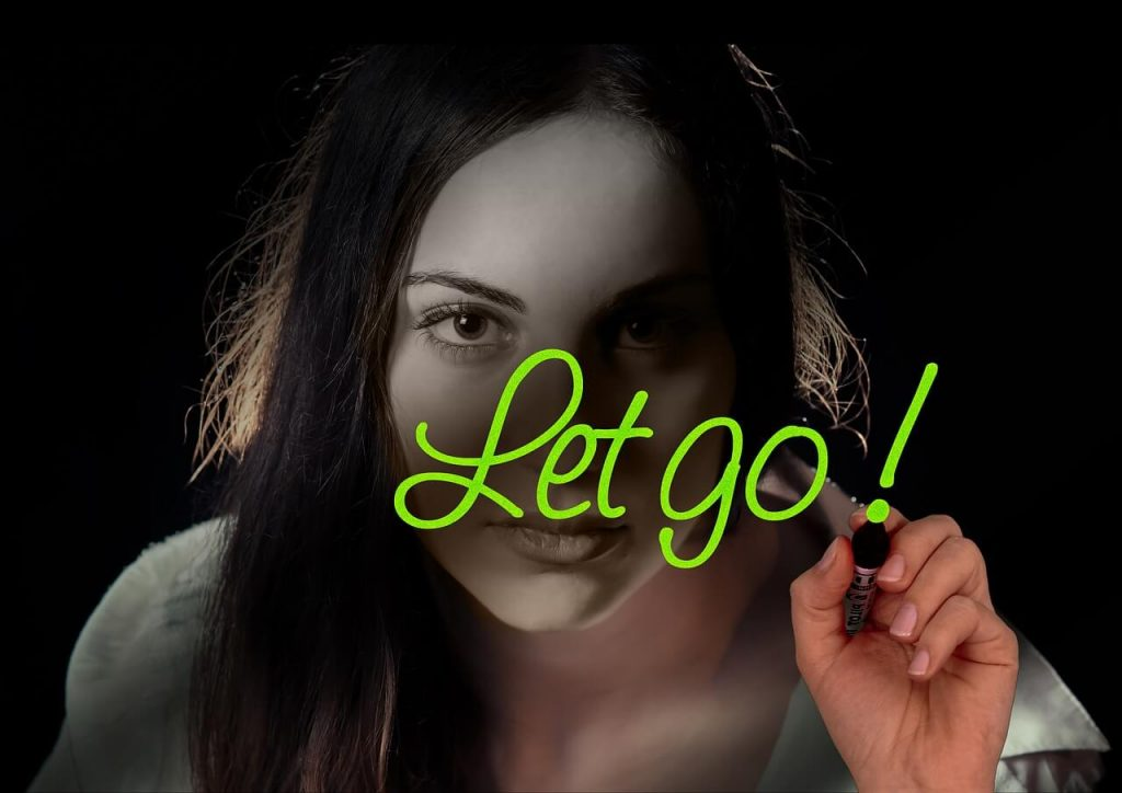 Let go message