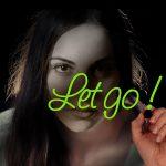 Let go message