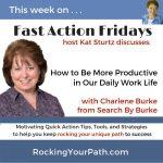FAF Charlene Burke promo