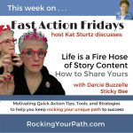Fast Action Fridays interview with Darcie Buzzelle