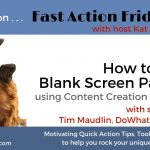 Fast Action Fridays guest Tim Maudlin