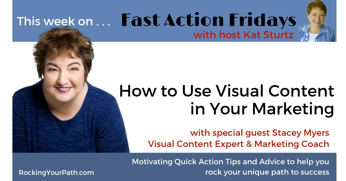 Faf Stacey Myers Using Visual Content FB image