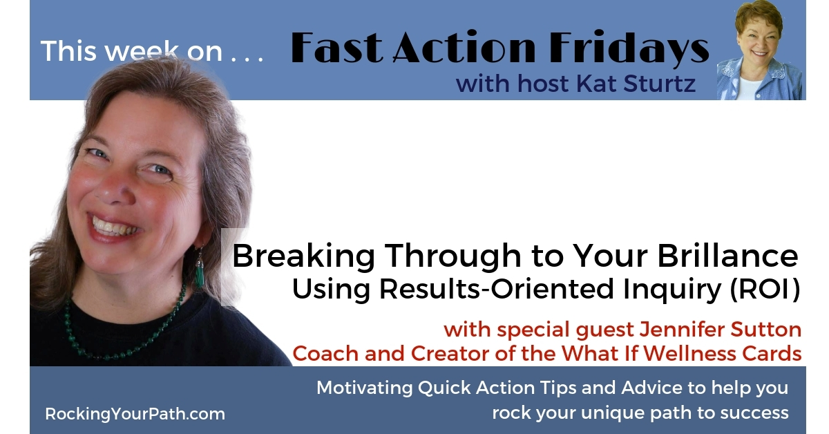Discover a new take on ROI: Results-Oriented Inquiry with guest Jennifer Sutton