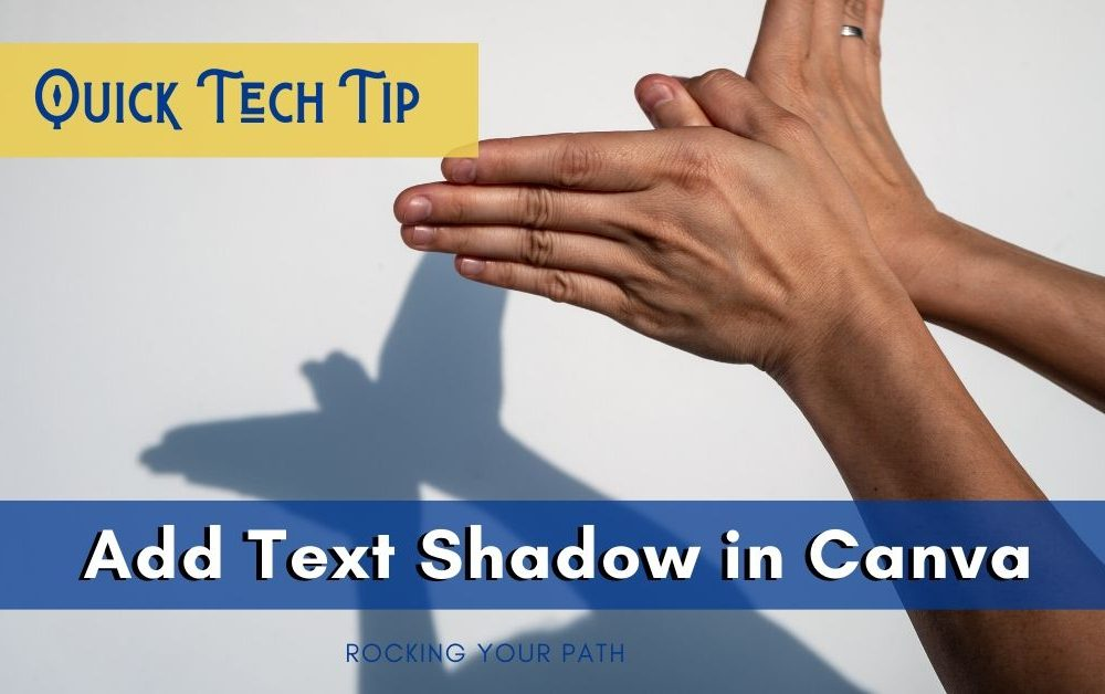 Add Text Shadow in Canva post image