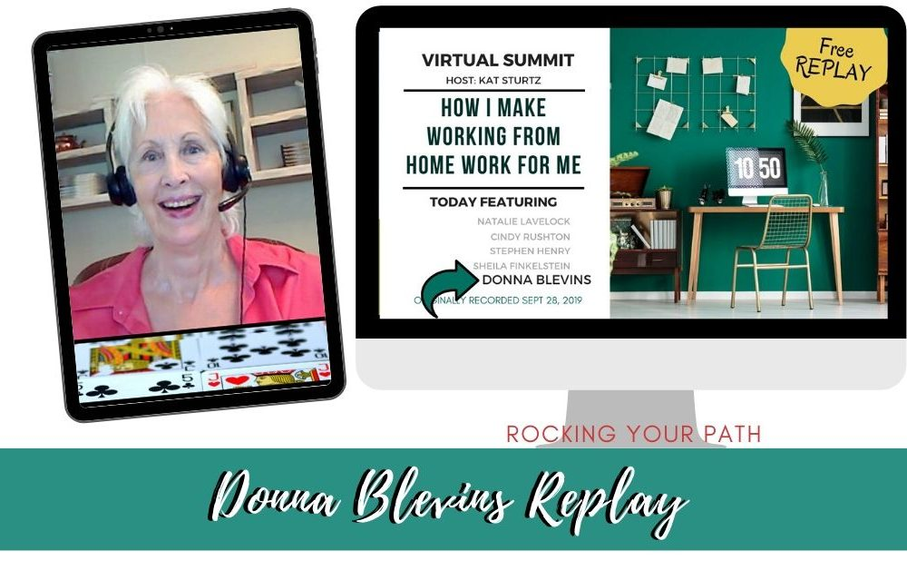 Donna Blevins Virtual Summit 2019 replay post image