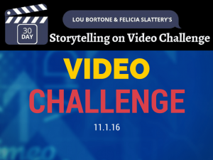 30 Day Video Challenge Nov 2016