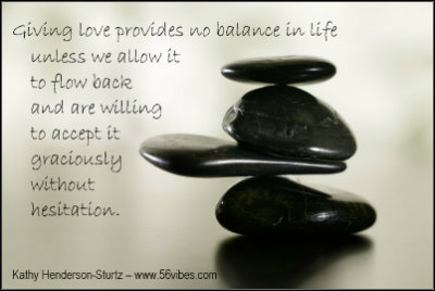 Importance of love in balance