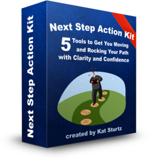 Next Step Action Kit box