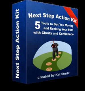 Next Step Action Kit box