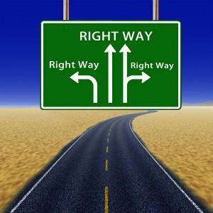 many right way roads