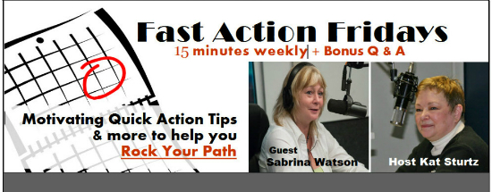 FAF guest Sabrina Watson