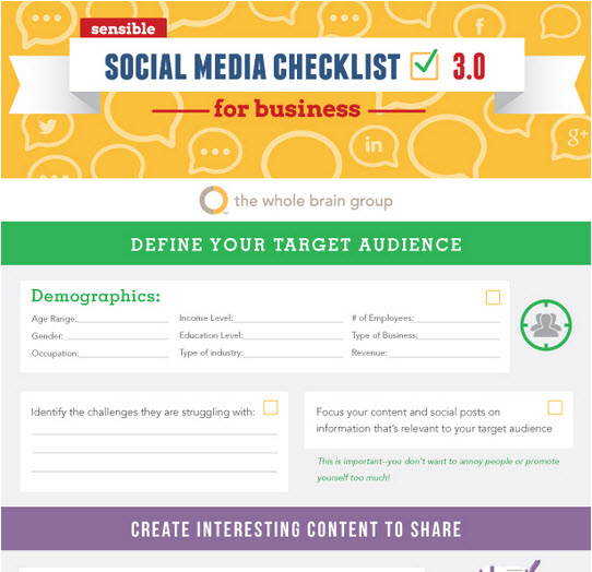 Need a sensible social media guide to help you plan for best results?